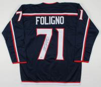 Nick Foligno Signed Jersey (Beckett COA) at PristineAuction.com