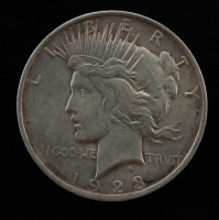 1923 $1 Peace Silver Dollar at PristineAuction.com