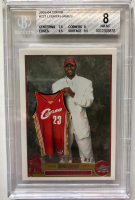 LeBron James 2003-04 Topps #221 RC (BGS 8) at PristineAuction.com