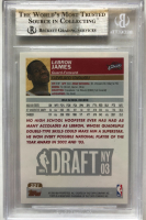 LeBron James 2003-04 Topps 1st Edition #221 RC (BGS 9) at PristineAuction.com