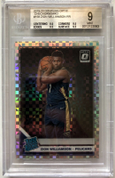 Zion Williamson 2019-20 Donruss Optic Checkerboard #158 RC (BGS 9) at PristineAuction.com