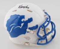 Kenny Golladay Signed Lions AMP Alternate Speed Mini Helmet (JSA COA) at PristineAuction.com