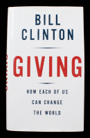 "Bill Clinton Signed ""Giving: How Each of Us Can Change the World"" Hardcover Book (JSA COA) at PristineAuction.com"