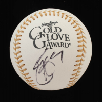 Eric Hosmer Signed Rawlings Gold Glove Award Baseball (JSA COA) at PristineAuction.com