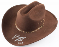 "Chandler Riggs Signed ""The Walking Dead"" Sheriff Hat Inscribed ""Carl"" (Radtke COA) at PristineAuction.com"