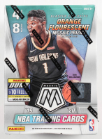 2019-20 Panini Mosaic Basketball 8-Pack Blaster Box with (8) Packs at PristineAuction.com
