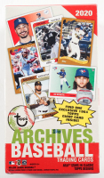 2020 Topps Archives Baseball Blaster Box with (7) Packs Plus 1 Exclusive 1964 Giant Card at PristineAuction.com