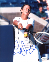 Lindsay Davenport Signed 8x10 Photo (JSA SOA) at PristineAuction.com