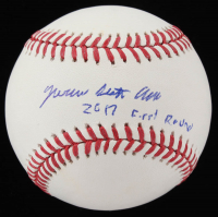"Jo Adell Signed OML Baseball Inscribed ""2017 First Round"" (PSA COA) at PristineAuction.com"