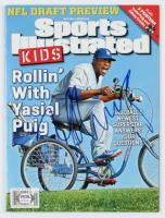 Yasiel Puig Signed 2014 Sports Illustrated Magazine (PSA COA) at PristineAuction.com
