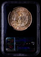 1884-O Morgan Silver Dollar - Black Core Holder (NGC MS63) (Toned) at PristineAuction.com