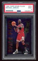 Michael Jordan 1995-96 Topps Spark Plugs #SP2 (PSA 9) at PristineAuction.com