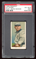 Cy Young 1909-11 T206 #525 / Glove Shows (PSA 4) (MC) at PristineAuction.com