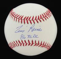 "Tim Raines Signed OML Baseball Inscribed ""86 NLBC"" (MAB Hologram) at PristineAuction.com"