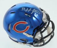 Devin Hester Signed Bears Chrome Speed Mini Helmet (Beckett COA) at PristineAuction.com