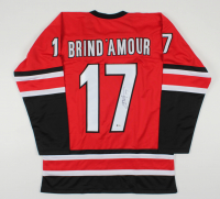 Rod Brind'Amour Signed Jersey (Beckett COA) at PristineAuction.com