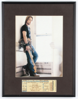 Keith Urban 12x15 Custom Framed Photo Display with Keith Urban Concert Ticket at PristineAuction.com
