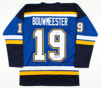 Jay Bouwmeester Signed Jersey (Beckett COA) at PristineAuction.com