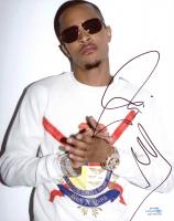 T.I. Signed 8x10 Photo (AutographCOA COA) at PristineAuction.com