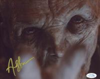 "Andy Serkis Signed ""Star Wars: The Last Jedi"" 8x10 Photo (AutographCOA COA) at PristineAuction.com"