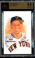 Leo Durocher LE 1980-02 Perez-Steele Hall of Fame Postcards #218 (BVG 9.5) at PristineAuction.com