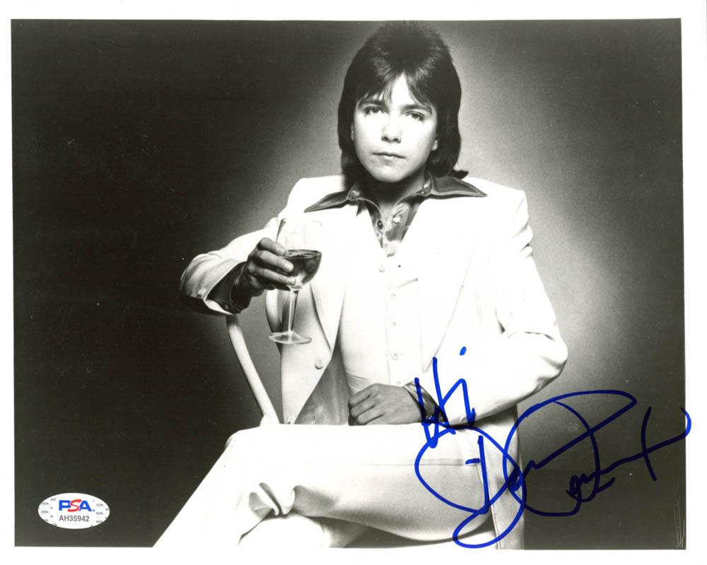 "David Cassidy Signed 8x10 Photo Inscribed ""Hi"" (PSA Hologram) at PristineAuction.com"