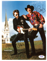"Kix Brooks & Ronnie Dunn Signed ""Brooks and Dunn"" 8x10 Photo (PSA Hologram) at PristineAuction.com"