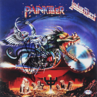 "Rob Halford Signed Judas Priest ""Painkiller"" 12x12 Album Cover Print (PSA COA) at PristineAuction.com"