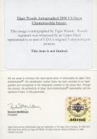 Tiger Woods Signed 23.5x27.5 Custom Framed Photo Display (UDA COA) at PristineAuction.com