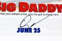 """Adam Sandler Signed """"Big Daddy"""" 12x18 Movie Poster (JSA Hologram) at PristineAuction.com"""