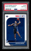 Zion Williamson 2019 Panini Hoops #258 RC (PSA 10) at PristineAuction.com