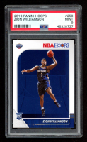 Zion Williamson 2019 Panini Hoops #258 RC (PSA 9) at PristineAuction.com