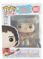 "Christopher Daniel Barnes Signed ""The Brady Bunch"" Greg Brady #693 Funko Pop! Vinyl Figure Inscribed ""Groovy (Greg Brady)"" (JSA COA) at PristineAuction.com"