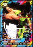 Macho Man Randy Savage 2018 Topps WWE Tribute 5x7 #23 Makes It to Runner Up in the 1993 Royal Rumble Match at PristineAuction.com
