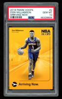Zion Williamson 2019 Panini Hoops Arriving Now #2 RC (PSA 10) at PristineAuction.com
