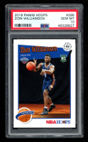 Zion Williamson 2019 Panini Hoops #296 RC (PSA 10) at PristineAuction.com