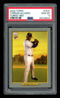 Yordan Alvarez 2020 Topps Turkey Red #TR37 (PSA 10) at PristineAuction.com