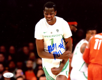 Bol Bol Signed Oregon Ducks 8x10 Photo (JSA Hologram) at PristineAuction.com