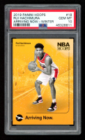 Rui Hachimura 2019-20 Hoops Arriving Now Winter #18 (PSA 10) at PristineAuction.com