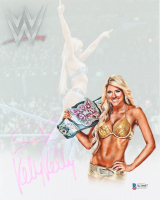 Kelly Kelly Signed 8x10 Photo (Beckett Hologram) at PristineAuction.com