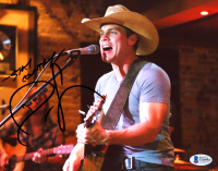"Dustin Lynch Signed 8x10 Photo Inscribed ""Stay Country"" (Beckett COA) at PristineAuction.com"