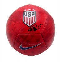 Megan Rapinoe Signed Team USA Logo Soccer Ball (JSA COA) at PristineAuction.com