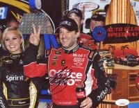 Tony Stewart Signed NASCAR 8x10 Photo (JSA COA) at PristineAuction.com