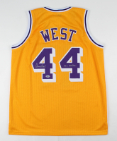 "Jerry West Signed Jersey Inscribed ""14x All-Star"" (Beckett COA) at PristineAuction.com"