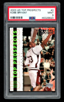 Kobe Bryant 2003-04 UD Top Prospects #2 (PSA 9) at PristineAuction.com