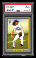 Dustin May 2020 Topps Turkey Red #TR11 RC (PSA 10) at PristineAuction.com