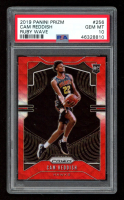 Cam Reddish 2019-20 Panini Prizm Prizms Ruby Wave #256 RC (PSA 10) at PristineAuction.com
