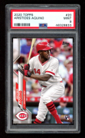 Aristides Aquino 2020 Topps #20 RC (PSA 9) at PristineAuction.com