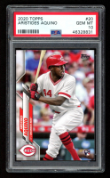 Aristides Aquino 2020 Topps #20 RC (PSA 10) at PristineAuction.com