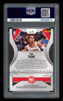 Trae Young 2019-20 Panini Prizm Prizms Green #31 (PSA 10) at PristineAuction.com